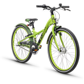 s'cool XXlite 24 3-S Childrens Bike alloy green
